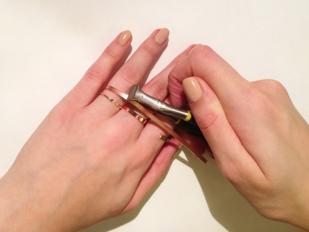 Colette Malouf-Inspired Ring Tutorial